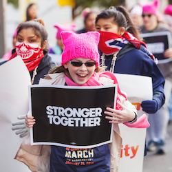 The Women's March, January 20, 2018